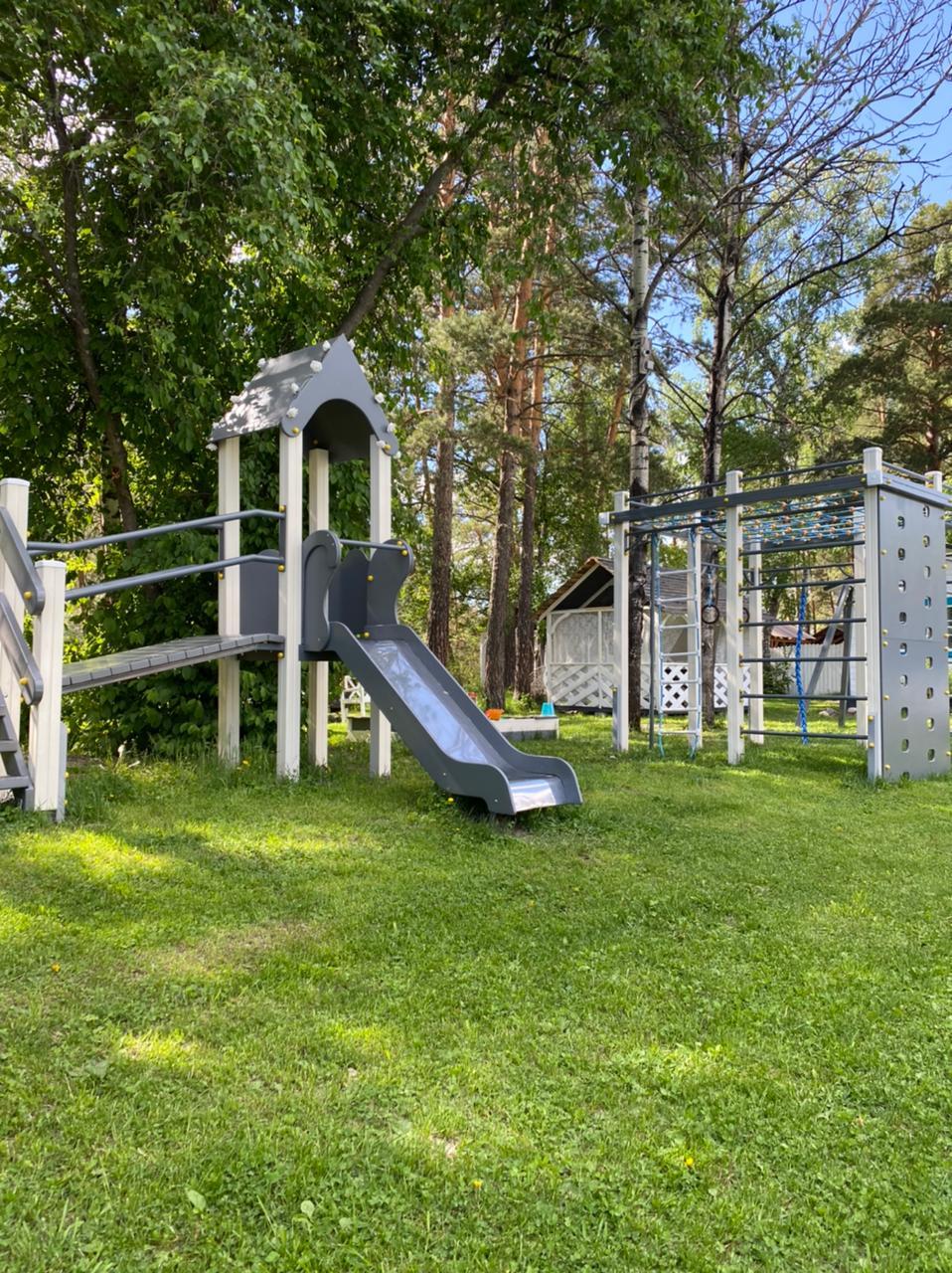 Детская площадка на усадьбе прованс (4)