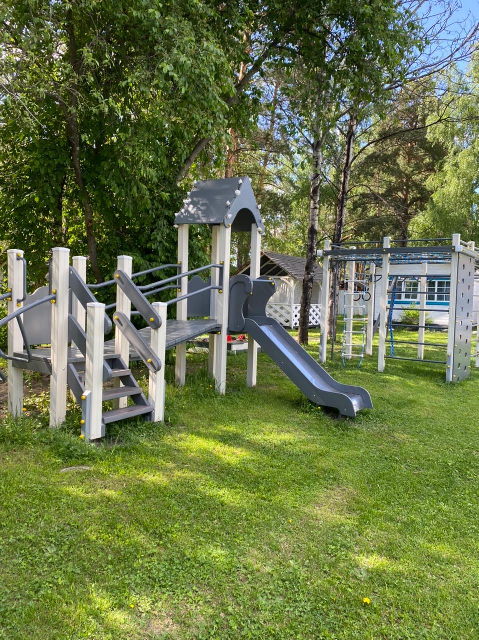 Детская площадка на усадьбе прованс (5)
